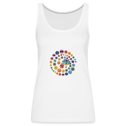 Espiral de Chakras - Camiseta de tirantes premium mujer