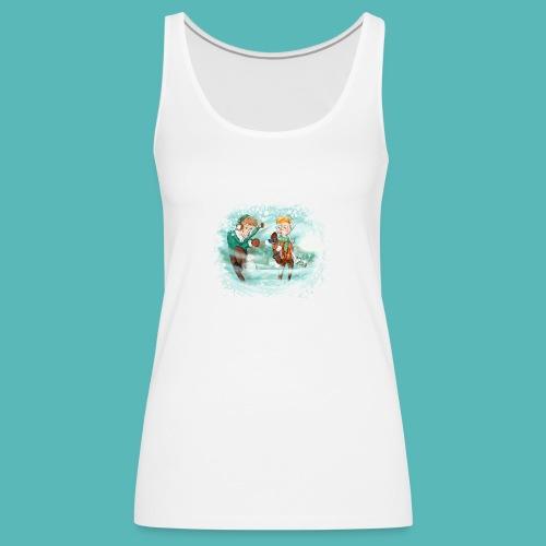 snow ball - Camiseta de tirantes premium mujer
