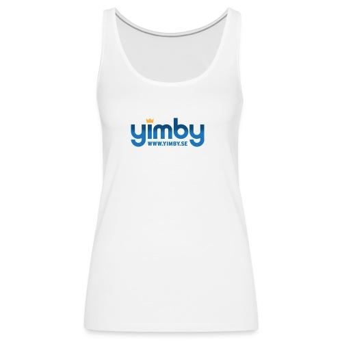 yimbylogo - Premiumtanktopp dam