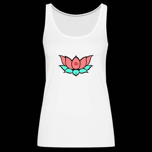 Summer Lotus - Camiseta de tirantes premium mujer