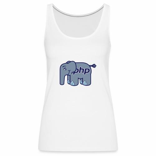 Der PHP Elefant - elePHPant - Frauen Premium Tank Top