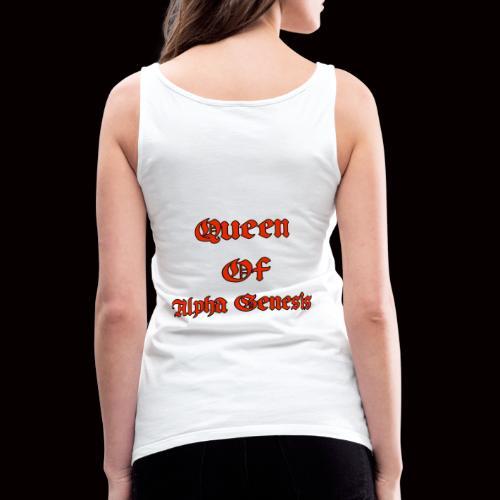 Queen of Alpha - Frauen Premium Tank Top