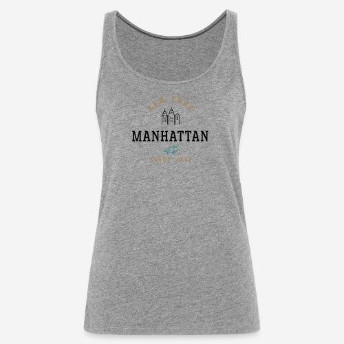 NEW YORK - MANHATTAN - Canotta premium da donna