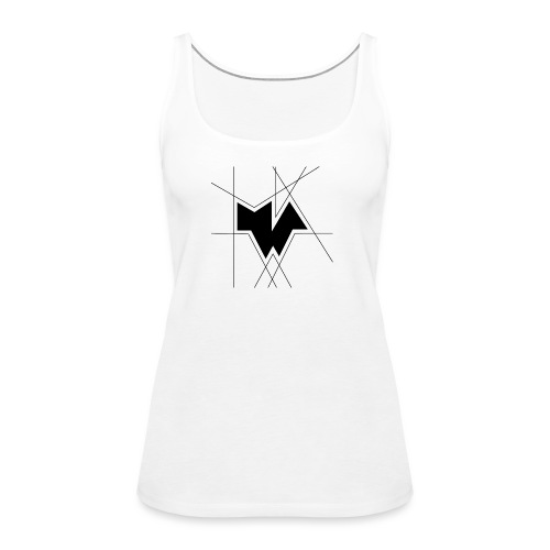 MWA [Logo Black] - Frauen Premium Tank Top