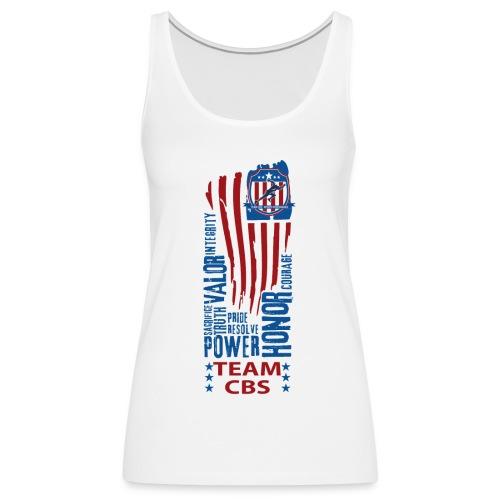 US CBS - Frauen Premium Tank Top