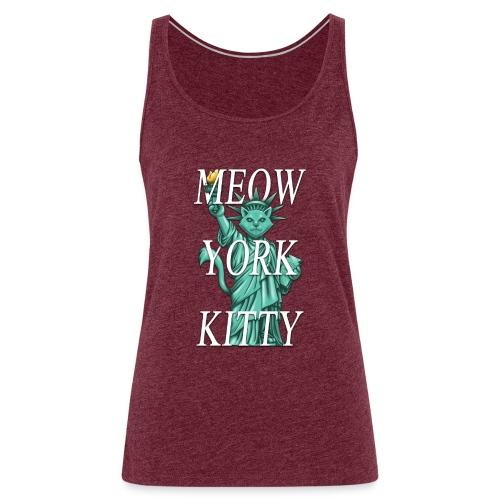 Meow York Kitty - Women's Premium Tank Top