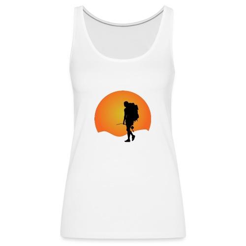 Capoeira me venceu - Women's Premium Tank Top