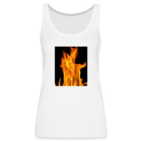 Flamme - Premium singlet for kvinner