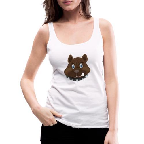PERRO ENFADADO - Camiseta de tirantes premium mujer