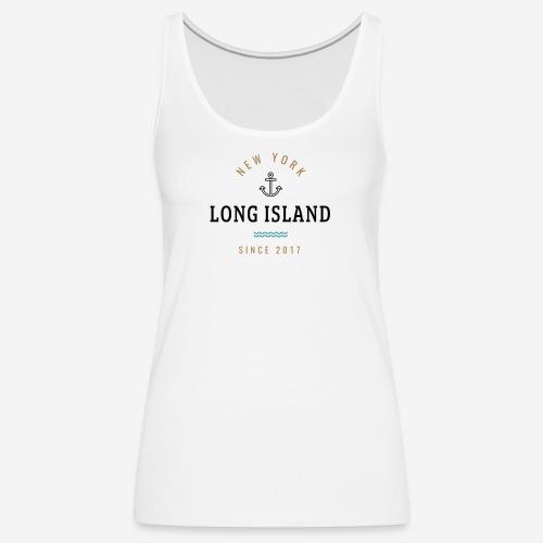 NEW YORK - LONG ISLAND - Canotta premium da donna