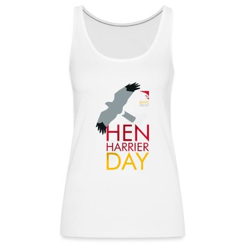 Hen Harrier Day T-Shirt - Women's Premium Tank Top