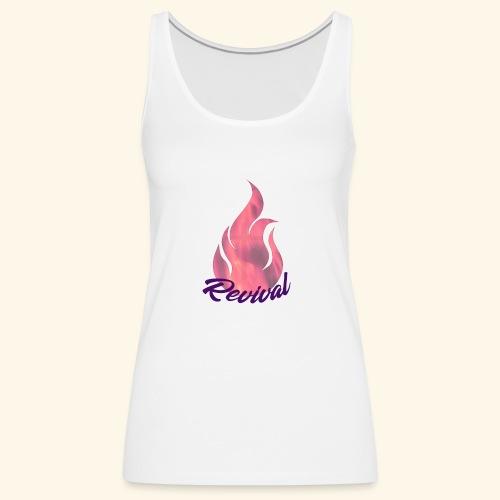 Revival fire pink - Premium singlet for kvinner