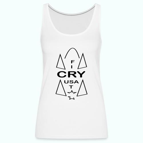 cry usa - Frauen Premium Tank Top