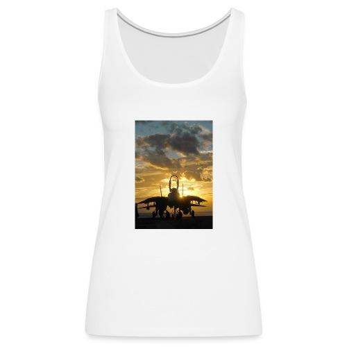 tomcat sunset - Camiseta de tirantes premium mujer