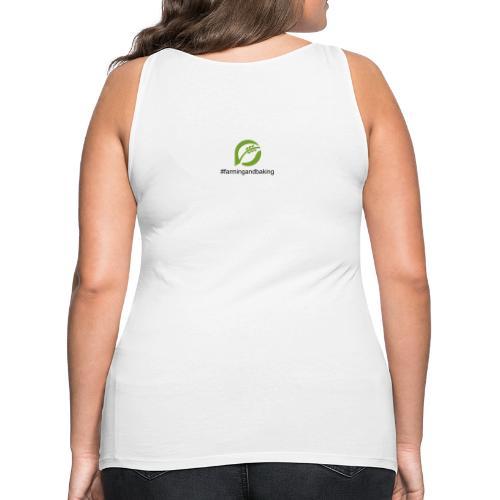 farmingandbaking_logogruen - Frauen Premium Tank Top