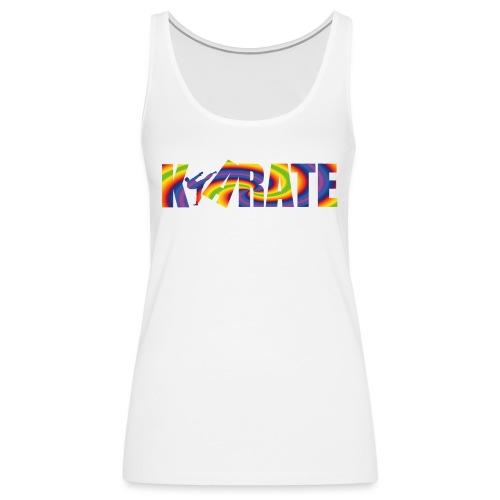 karate kick - Premiumtanktopp dam