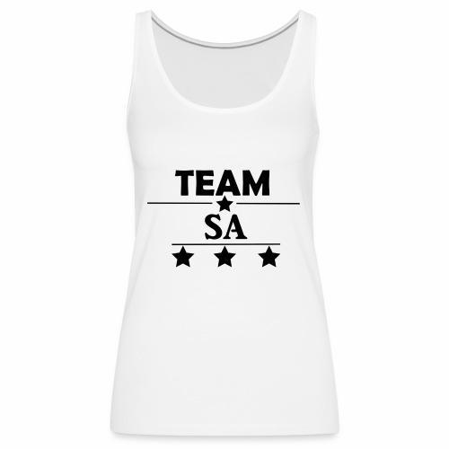 Team SA Logo - Premiumtanktopp dam