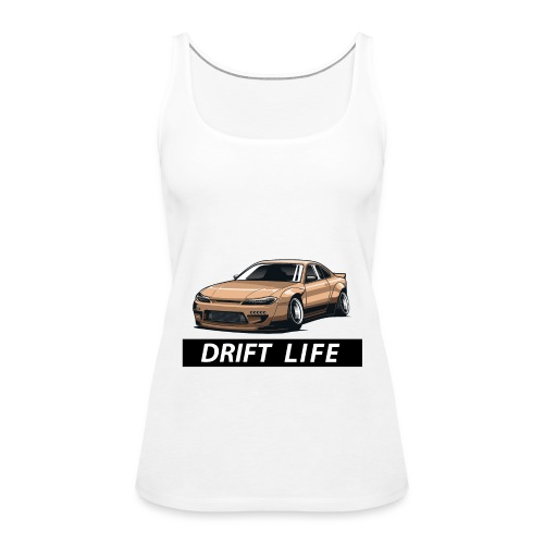 Vida Drift Tuneo Derrape Silvia s14 drift jdm - Camiseta de tirantes premium mujer