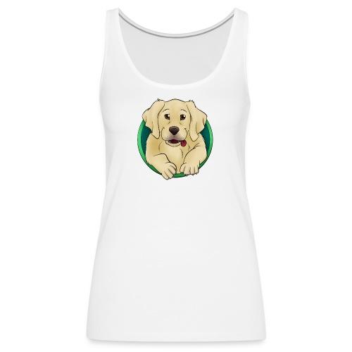 Hunde Portrait - Labrador Welpe - Frauen Premium Tank Top