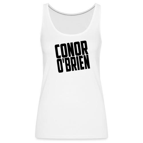 The Conor O'Brien Logo - Women's Premium Tank Top