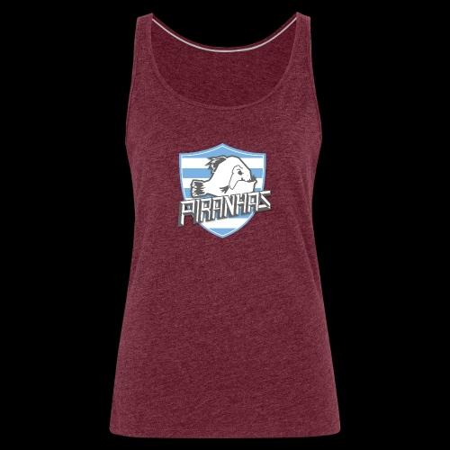 Logo Piranhas v5 - Débardeur Premium Femme