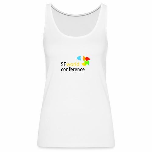 SFworldconference T-Shirts - Frauen Premium Tank Top