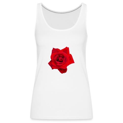 Red Roses - Tank top damski Premium