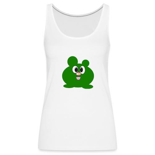 Green Monster by ArtShirt Kidz - Women's Premium Tank Top