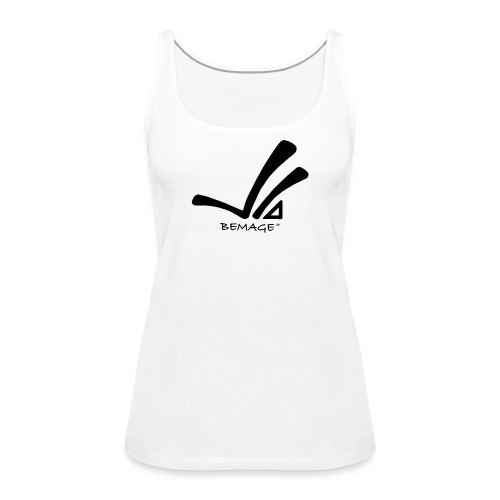 Bemage Logo neu test3 png - Frauen Premium Tank Top