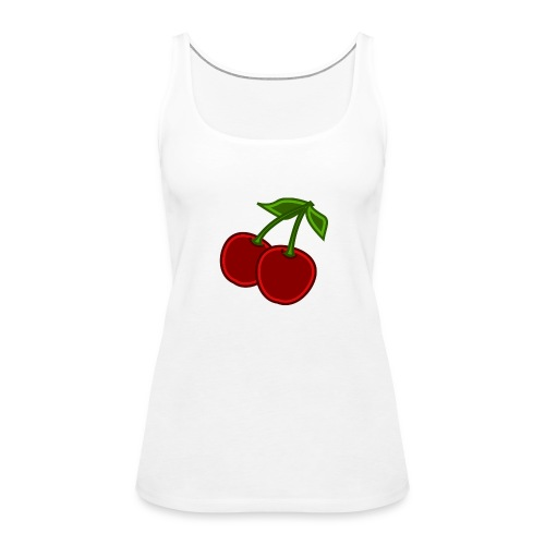 cherry - Tank top damski Premium