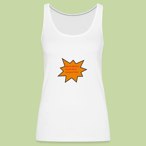 Lustiges T-shirt - Frauen Premium Tank Top