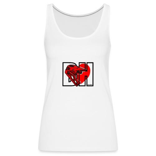 I love Downhill - Camiseta de tirantes premium mujer