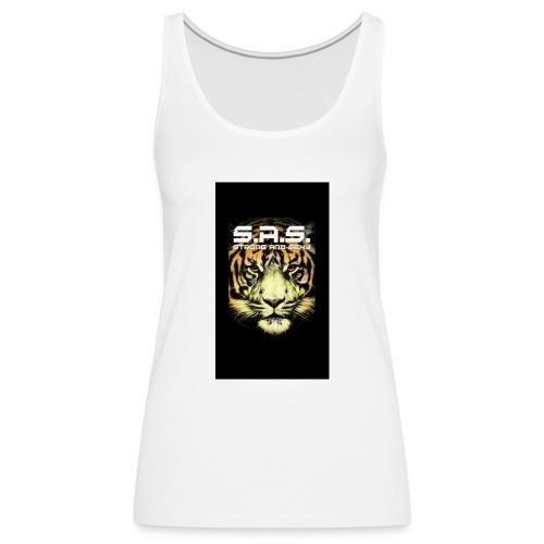 sas tiger wide jpg - Vrouwen Premium tank top