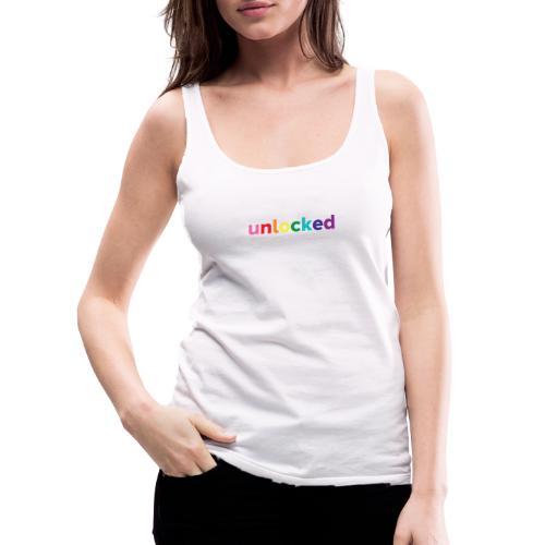 Unlocked - Camiseta de tirantes premium mujer