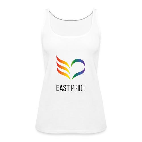 East Pride logotyp - Premiumtanktopp dam