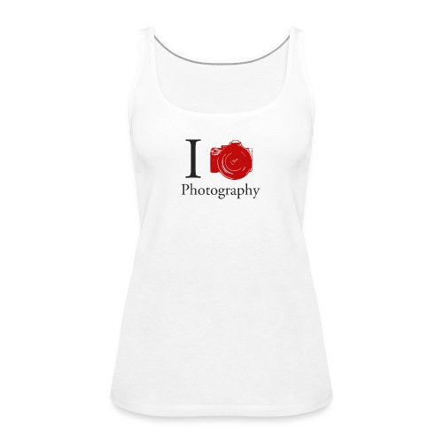I Love Photography Collection - Frauen Premium Tank Top