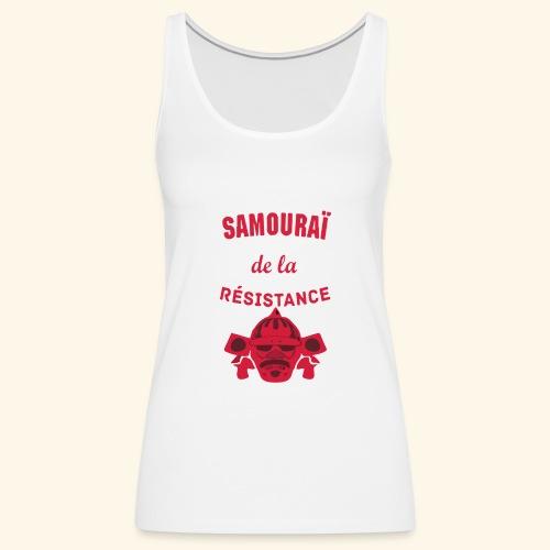 samourai de la résistance - Débardeur Premium Femme
