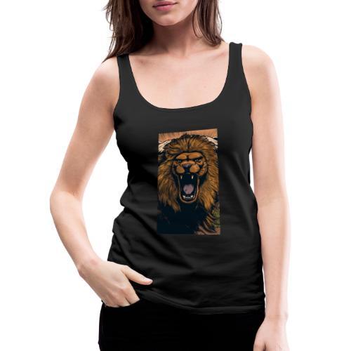 Lion grin - Frauen Premium Tank Top