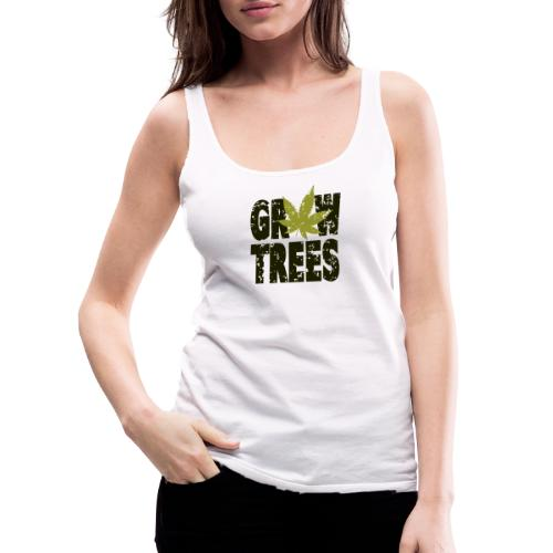 Grow Weed Trees Cannabis - Vintage - Frauen Premium Tank Top