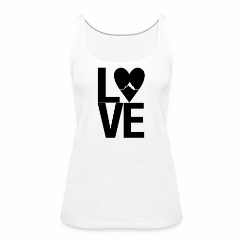 Mountain Love - Frauen Premium Tank Top