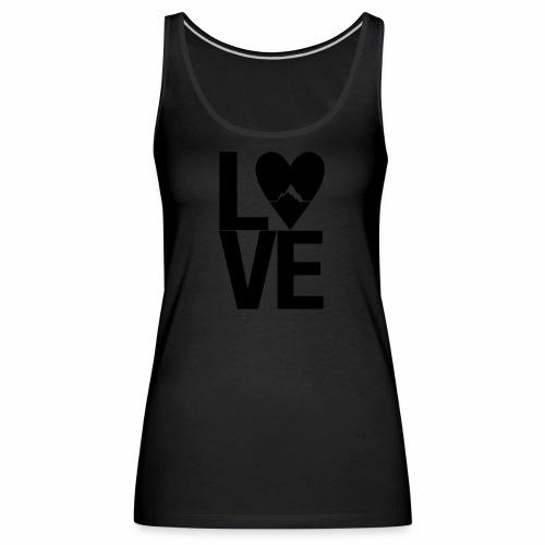 Mountain Love - Frauen Premium Tank Top