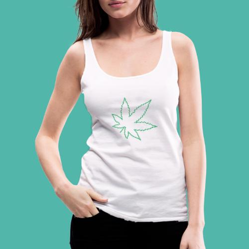 Marijuana - Frauen Premium Tank Top
