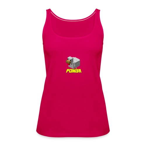 POw3r sportivo - Canotta premium da donna