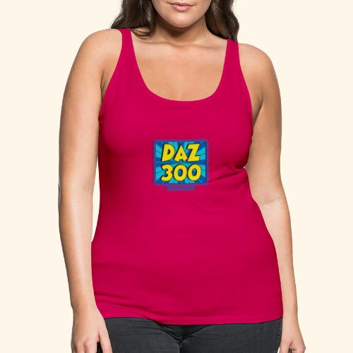 Daz300logo1 - Women's Premium Tank Top