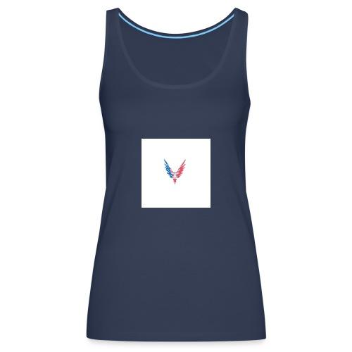 American bird. - Women's Premium Tank Top