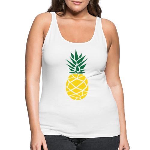 Pineapple - Vrouwen Premium tank top