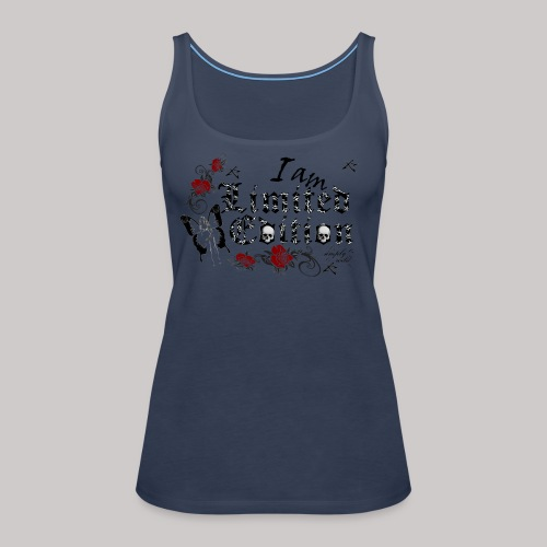 simply wild limited Edition on white - Frauen Premium Tank Top