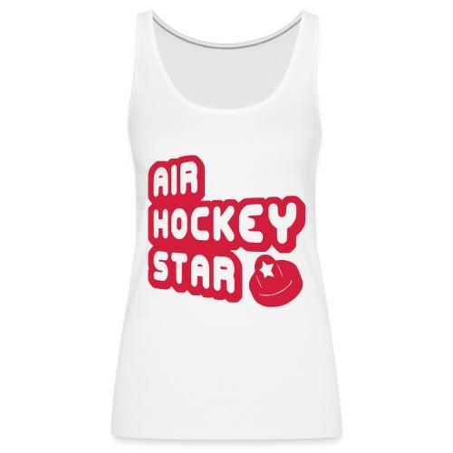 Air Hockey Star - Women's Premium Tank Top