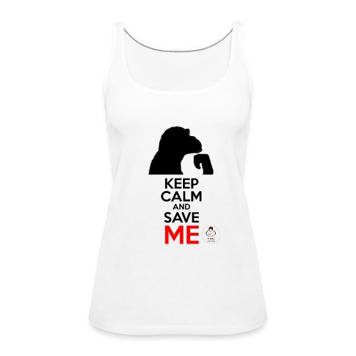 design_keep calm - Débardeur Premium Femme