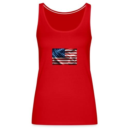 amerikaanse vlag - Vrouwen Premium tank top